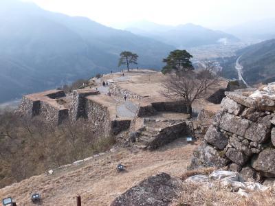 圧倒的な絶景が望める竹田城へ