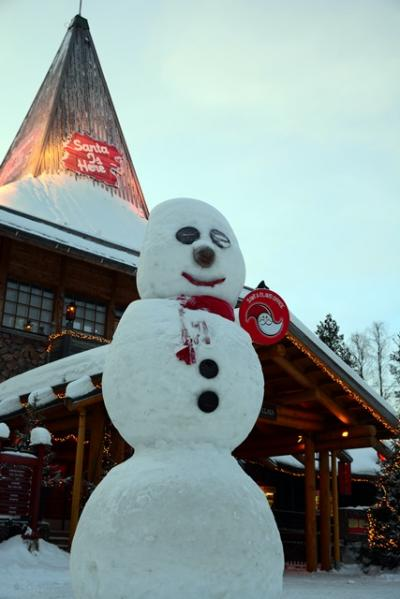 2017.1.22~26 フィンランド その2 ~ サンタクロース村と1回目のオーロラ観測 ~