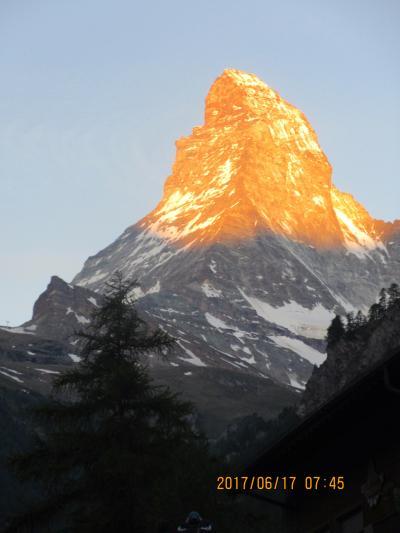 スイスの旅 P1.マッターホルン