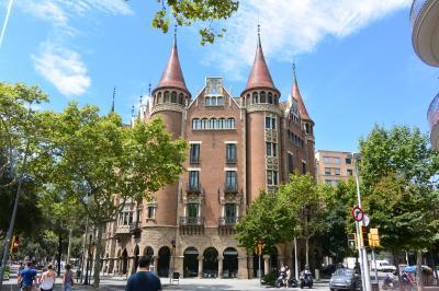 バルセロナのモデルニスモ建築を巡る!⑩ 建物見て歩き