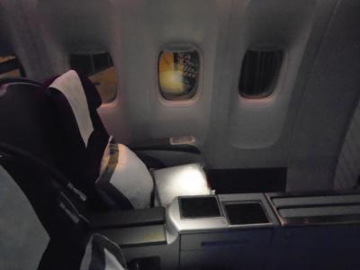 QR806(DOH-NRT)ビジネスクラス機内食