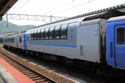 最後の活躍、特急北斗キハ183系ハイデッカーグリーン車(キロ182)で南千歳から函館へ。