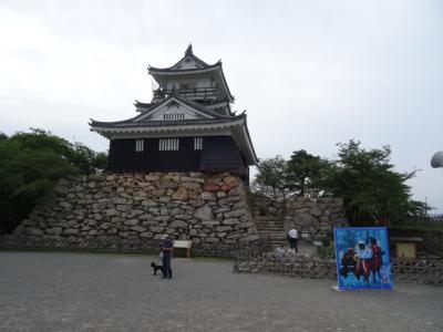 浜松城 大河ドラマ朝の散歩