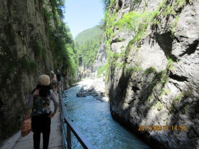 スイスの旅 P5.アーレー渓谷