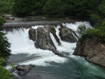 ピヨウタンの滝は興ざめだった。キャンプ場としてはいいのかも。