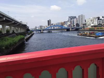 隅田川テラス散策