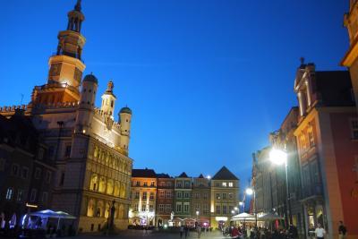 春のポーランド・リトアニア・ラトビア三国巡り その5 ポズナンの街を散策♪