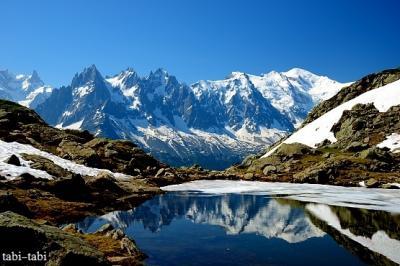 初夏のモンブランと残雪のラックブランを歩く・・・回想・・・