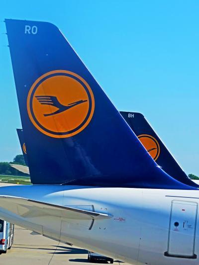 ミュンヘン空港で 東京行 LH-0714便/乗り継ぎ ☆手荷物保安検査もなく簡便に