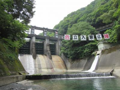 2017年6月29日:ダムカード収集の旅(その2) 神奈川編(中編) 道志ダム & 相模ダム