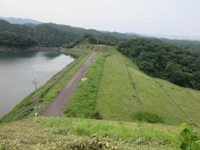 2017年6月29日:ダムカード収集の旅(その2) 神奈川編(後編) 本沢ダム & 城山ダム