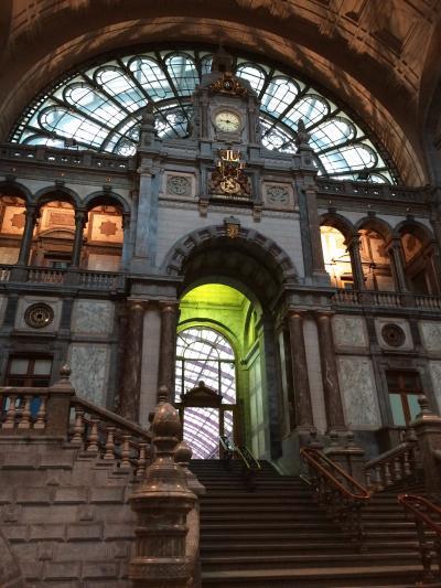 2015年 ベルギー&オランダ(1) 憧れのアントワープ駅(ベルギー編)