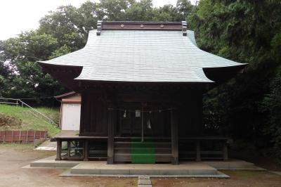 鎮守 第六社(横浜市戸塚区上矢部町坂本)