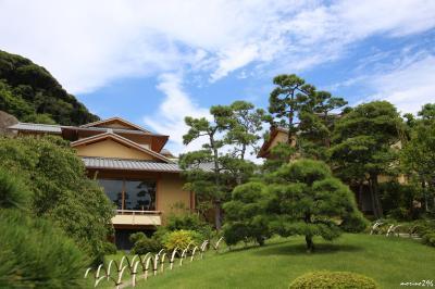 県立大磯城山公園:旧吉田茂邸と旧三井別邸