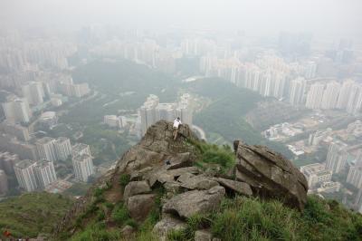 """駐在のついでに 【その31】 香港で3度目の山歩きは """"飛鵝山 (Kowloon Peak) 602m""""へ!"""