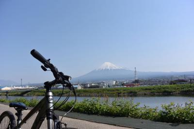 自転車でGO! 2016.04.30 富士山を見ながら市内南部をウロウロ…