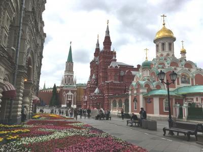 ロシア入門編 サクッとモスクワ3泊の旅【その1】