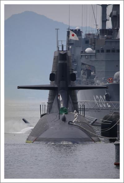 Solitary Journey [1916] 国内で唯一、潜水艦と護衛艦を間近で見ることができる公園です。<潜水艦基地アレイかすこじま>広島県呉市
