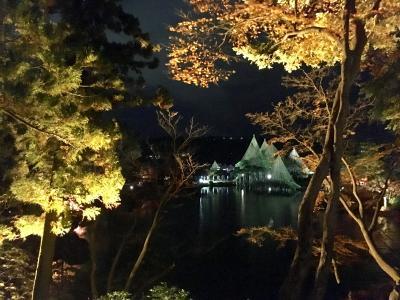 秋の金沢 兼六園ライトアップを楽しみに♪見所散策