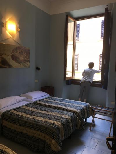 オラからチャオへ。ピサまでのハプニング。~三年に一度、50代の三人旅