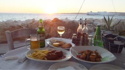 ギリシャ旅行記③いよいよ旅の中盤戦!紺碧のエーゲ海の人気リゾートパロス島へ!