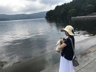 六か月ベビ連れ★ワンコ連れ 箱根旅行①
