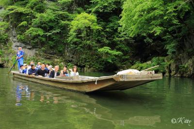 行きたい所をたくさん詰め込んで♪岩手縦断470Kmの旅(8)【猊鼻渓舟下り&世界遺産平泉中尊寺】