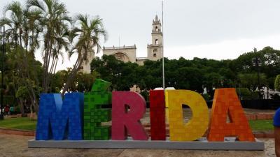 ANA特典でメキシコへ  2017年7月  ①メリダ