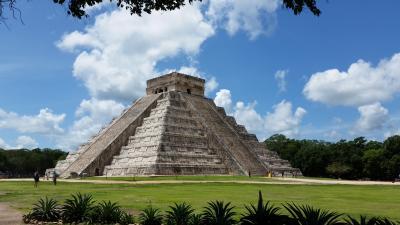 ANA特典でメキシコへ  2017年7月  ②チチェン・イッツア