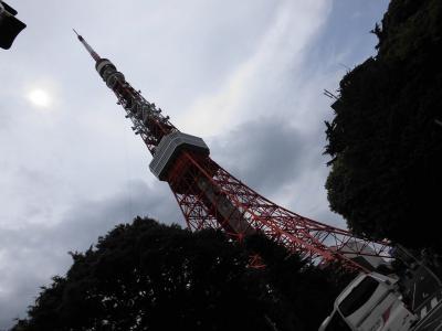 東京・横浜のホテルを楽しむ3日間 (3)プリンスホテルのランチ&東京タワー