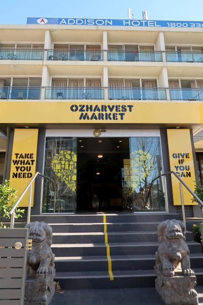 シドニースーパー探訪@世界初無料のスーパー、OZHARVEST