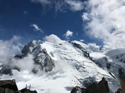 毎度ジョナ企画 スイス鉄道の旅25万円弱 4大名峰を晴天に恵まれて堪能する熟女4人組Part5 シャモニーモンブラン編 旅の最終章