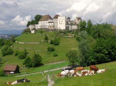 スイスあの城この城14 Schloss Lenzburg/レンツブルク城