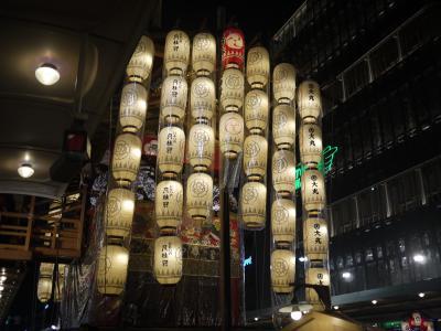 祇園祭・前祭(さきまつり)宵山~コンチキチン♪祇園囃子が聞きたくて