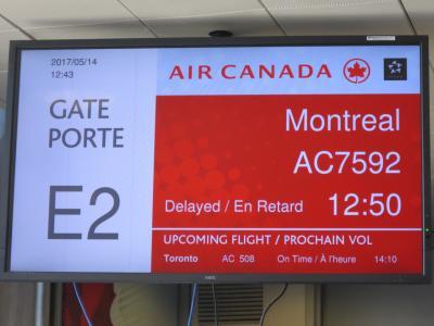 26年ぶりのカナダ・モントリオール(1:NH112便でシカゴ経由カナダ入国編)