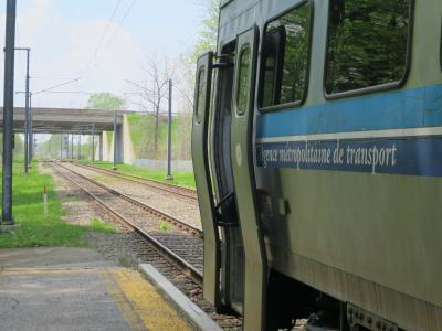 26年ぶりのカナダ・モントリオール(3:【乗り鉄】AMT近郊列車に乗る編)