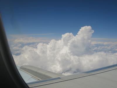 26年ぶりのカナダ・モントリオール(4:NH111便で嵐がくる前に帰国編)