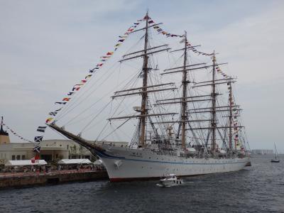 海フェスタ開催中の神戸に行ってきました