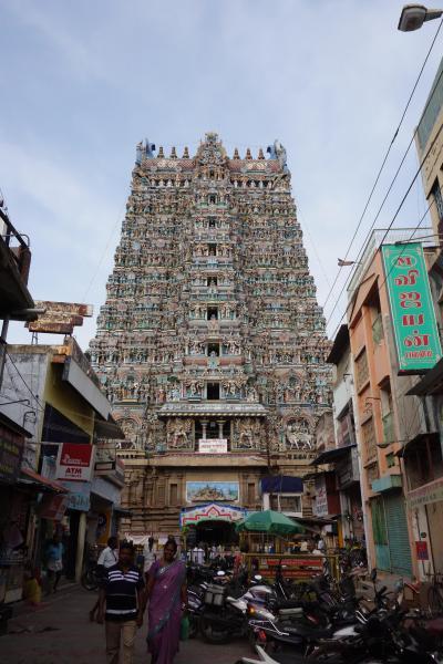 GW南インド周遊記 3日目 地元感溢れる街マドゥライを歩く