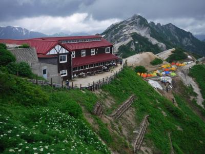 燕岳と居心地のいい燕山荘へ