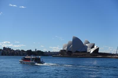 初の南半球へ♪シドニー女1人旅1・2日目