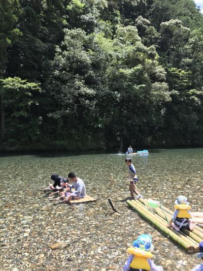 家族旅行 2017年7月(長男8歳、次男6歳)和歌山 川湯温泉 山水館みどりや