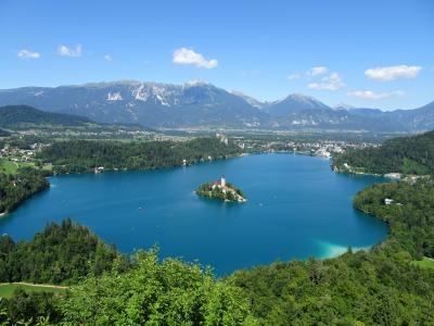 4連休でボスニア・ヘルツェゴビナ&スロベニア(4) ブレッド湖、ヴィントガル渓谷、ボーヒン湖