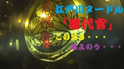 """""""悪代官""""江戸川ヌードル・唐揚げ&たっぷりタルタル 悪よのう・・もう逃げられません ^^! おや・バイク不調で、とうとうドック入り! ブログ&動画"""