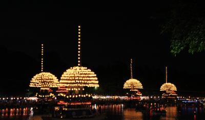 祝ユネスコ無形文化遺産登録 尾張津島天王祭【2/2】-- 尾張津島天王祭 宵祭 --