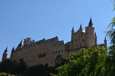 ディズニーのお手本になったお城の街、セゴビア