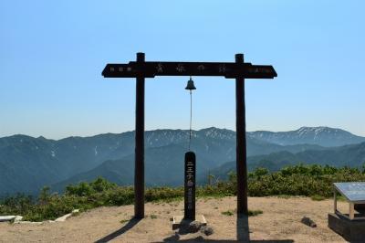 新潟県新発田市 二王子岳 日帰り登山