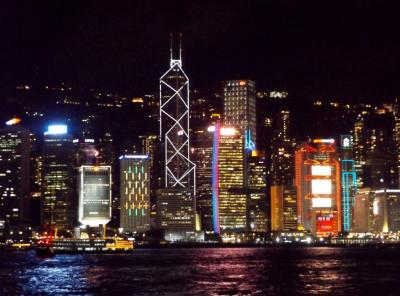 母の傘寿祝 IN 香港マカオ 2日目は香港市内観光。HISツアー「世界遺産を含む名所観光&4回の食事付!香港&マカオ」デラックスクラスホテル泊