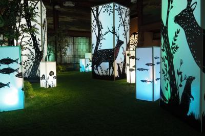 幽玄なる灯火の世界へ☆ホテル雅叙園東京「和のあかり展」を訪れて