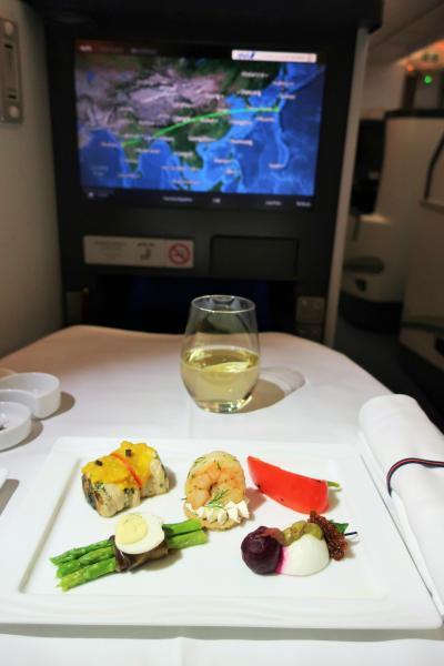 【2017 出張】帰路とANAムンバイ線 ビジネスクラス搭乗記